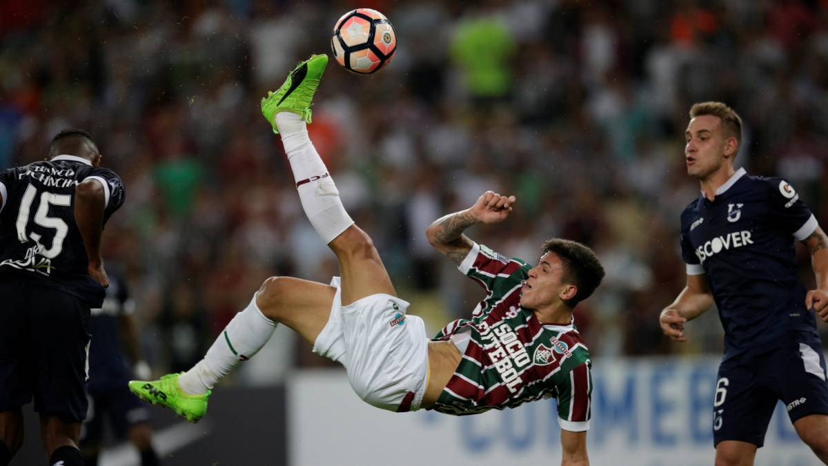 Fluminense 4-0 Católica: 'Flu' pone un pie en octavos