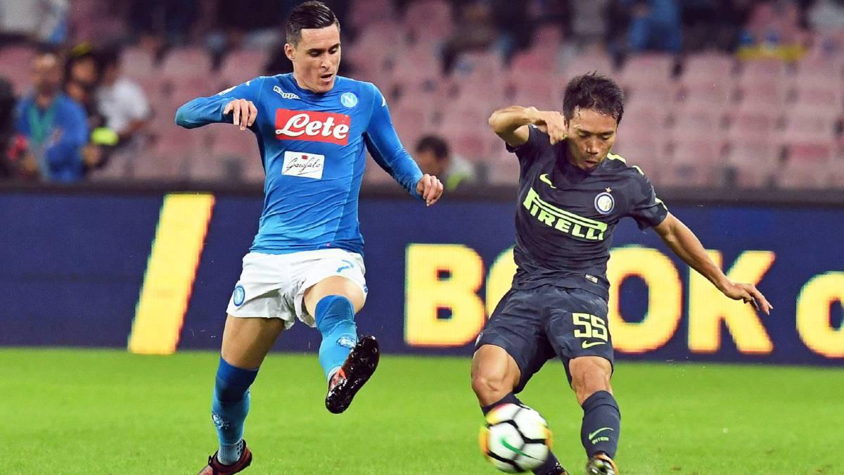 Nápoles 0-0 Inter de Milán  resumen y resultado - AS Argentina 42a267b10b5e3