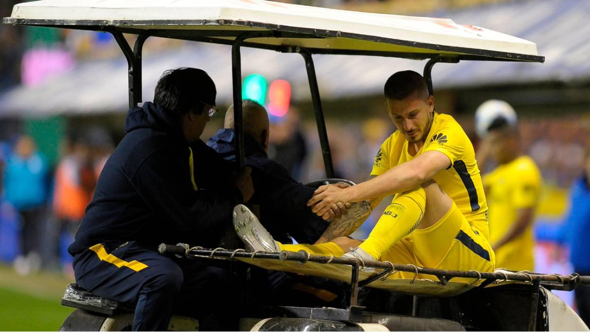 Darío Benedetto sufrió grave lesión en su rodilla derecha
