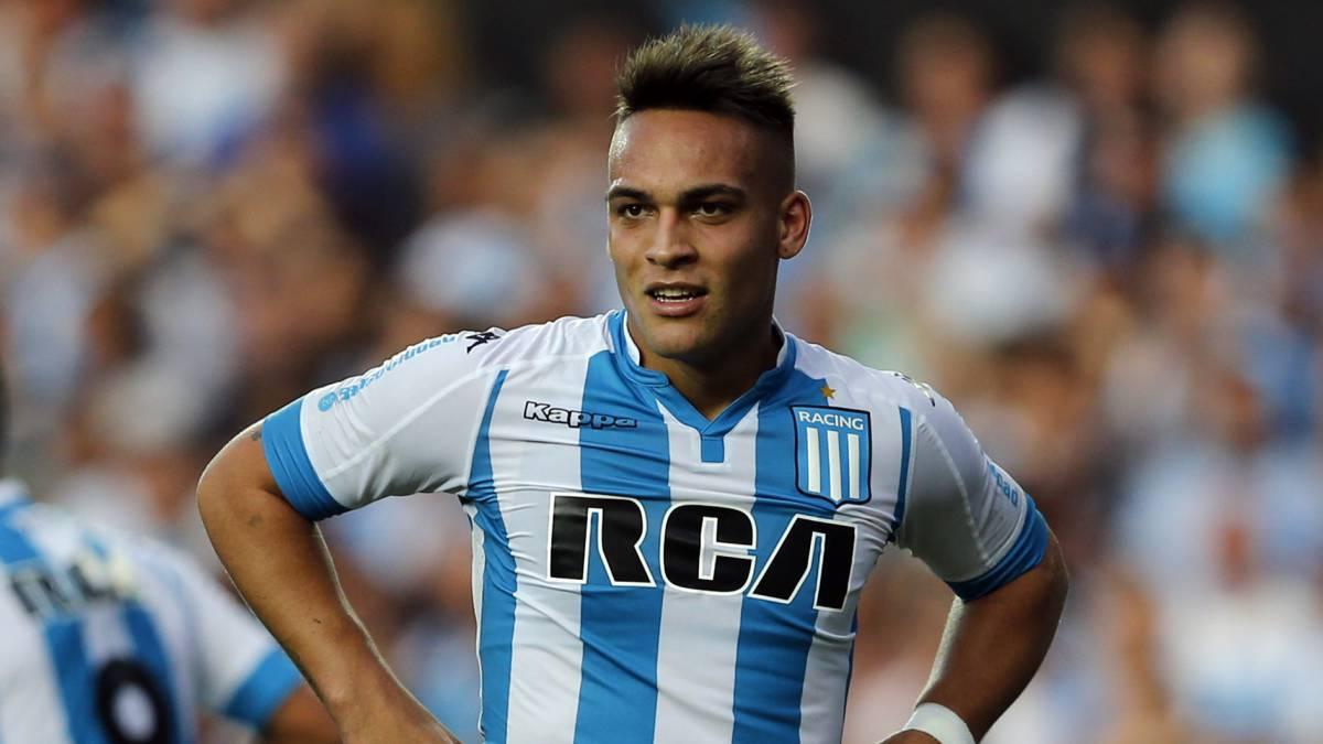 Racing rechazó la primera oferta del Inter por Lautaro Martínez