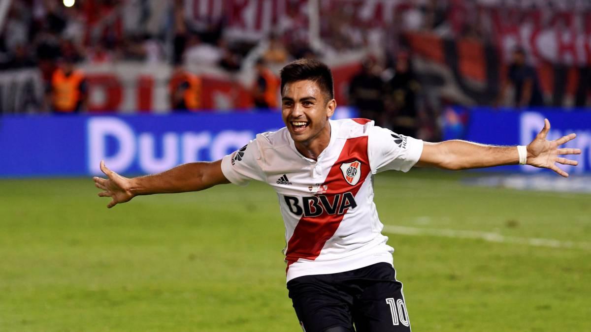 River estiró su buen momento con una goleada en Chile
