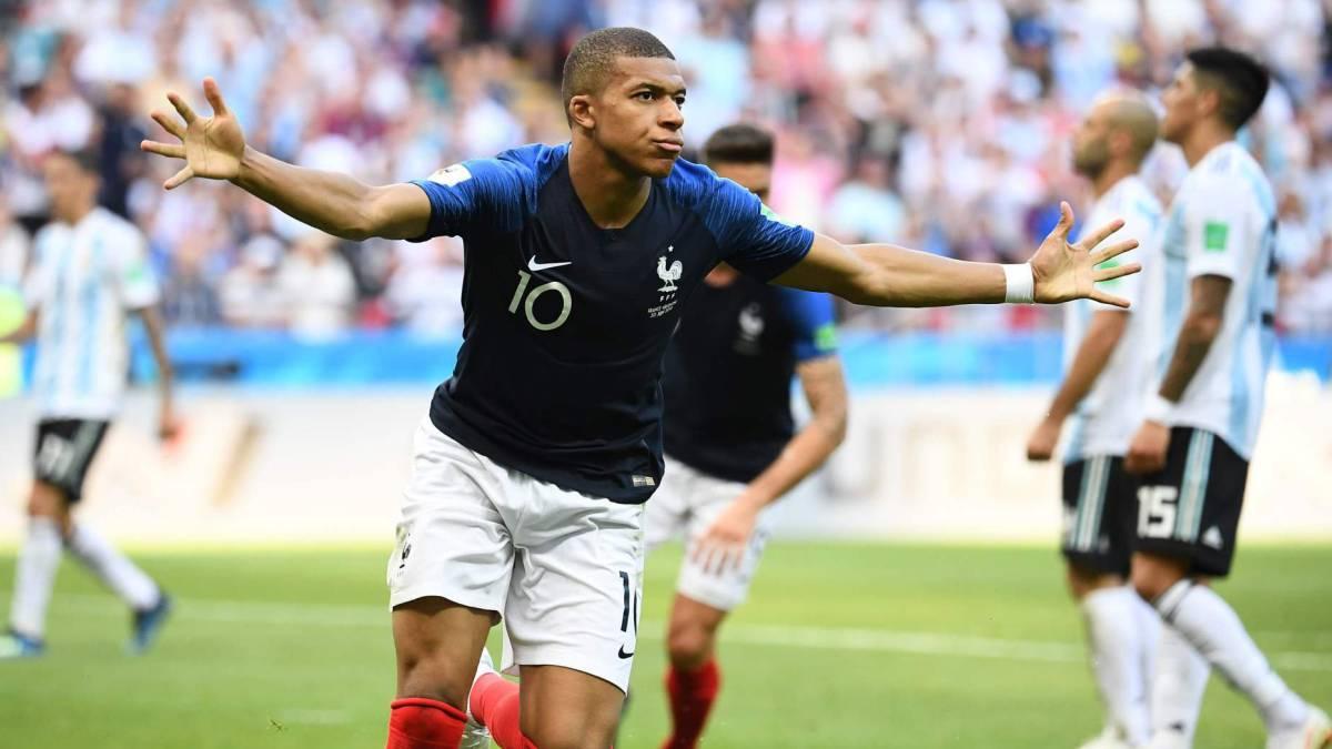 Resultado de imagen de francia argentina mundial 2018 pavard