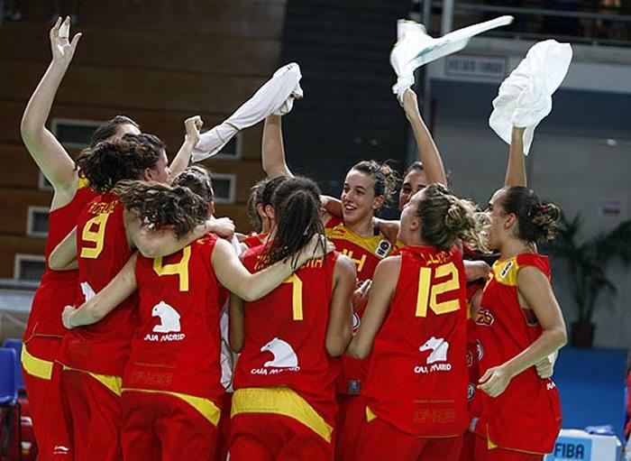 Las chicas de la sub 16 tambi n son de oro - Las chicas de oro espana ...