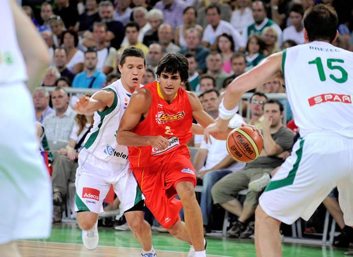 Marc se disfraza de Pau y España gana tras prórroga