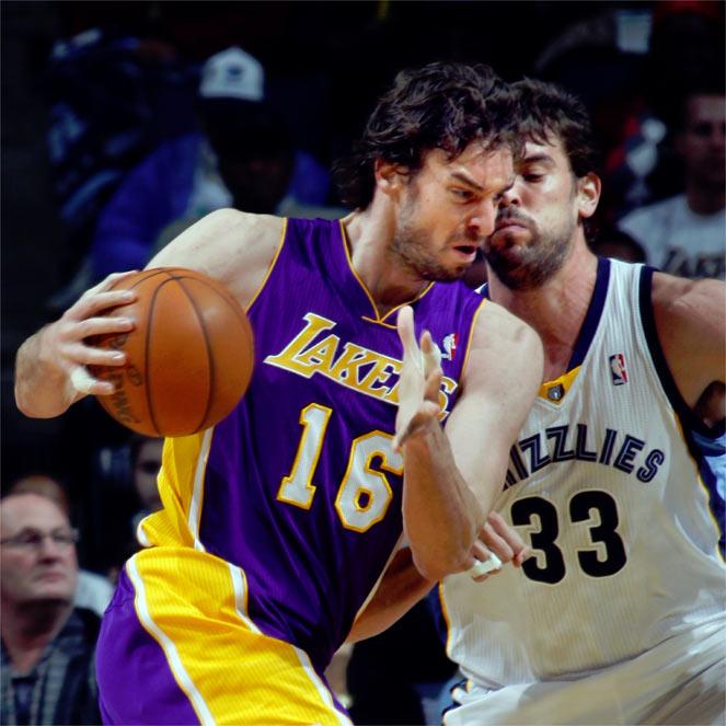 En Memphis, tercera derrota seguida de Lakers