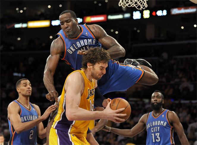 Los Lakers, sin antídoto para frenar a Westbrook