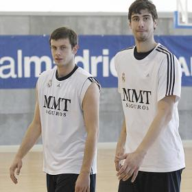 Ante Tomic y Novica Velickovic no seguirán en el Real Madrid