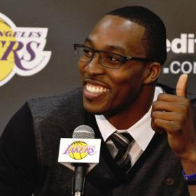 "Howard: ""Pienso en un gran futuro con los Lakers"""