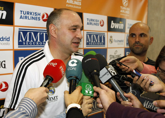 "Laso: ""Florentino nos felicitó por los 104 puntos anotados"""