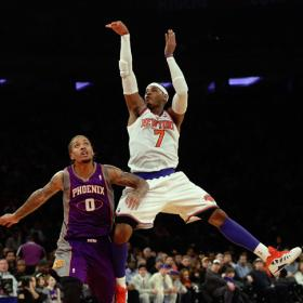 Anthony mantiene invictos a los Knicks en el Madison