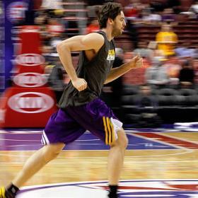 Gasol podría volver esta noche ante Charlotte Bobcats