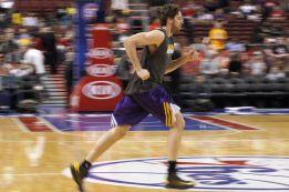 Pau Gasol vuelve con los Lakers esta noche ante los Bobcats