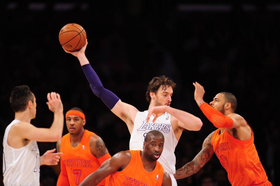 Los Knicks, la quinta víctima consecutiva de los Lakers de Pau