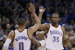 Durant, Ibaka y Westbrook son las claves del triunfo