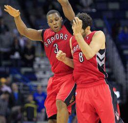 DeMar DeRozan y Kyle Lowry dieron la victoria a los Raptors