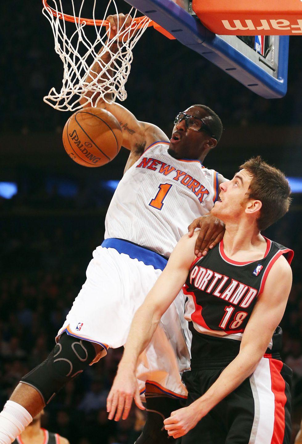 Batum y un novato amargan el Año Nuevo a los Knicks