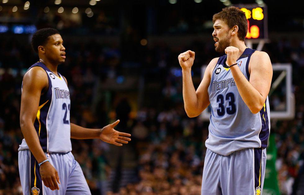 Conley y los Grizzlies pasan sobre los Boston Celtics
