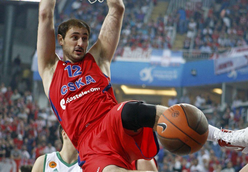 Euroliga: sólo el CSKA se salva del éxodo de pívots a la NBA