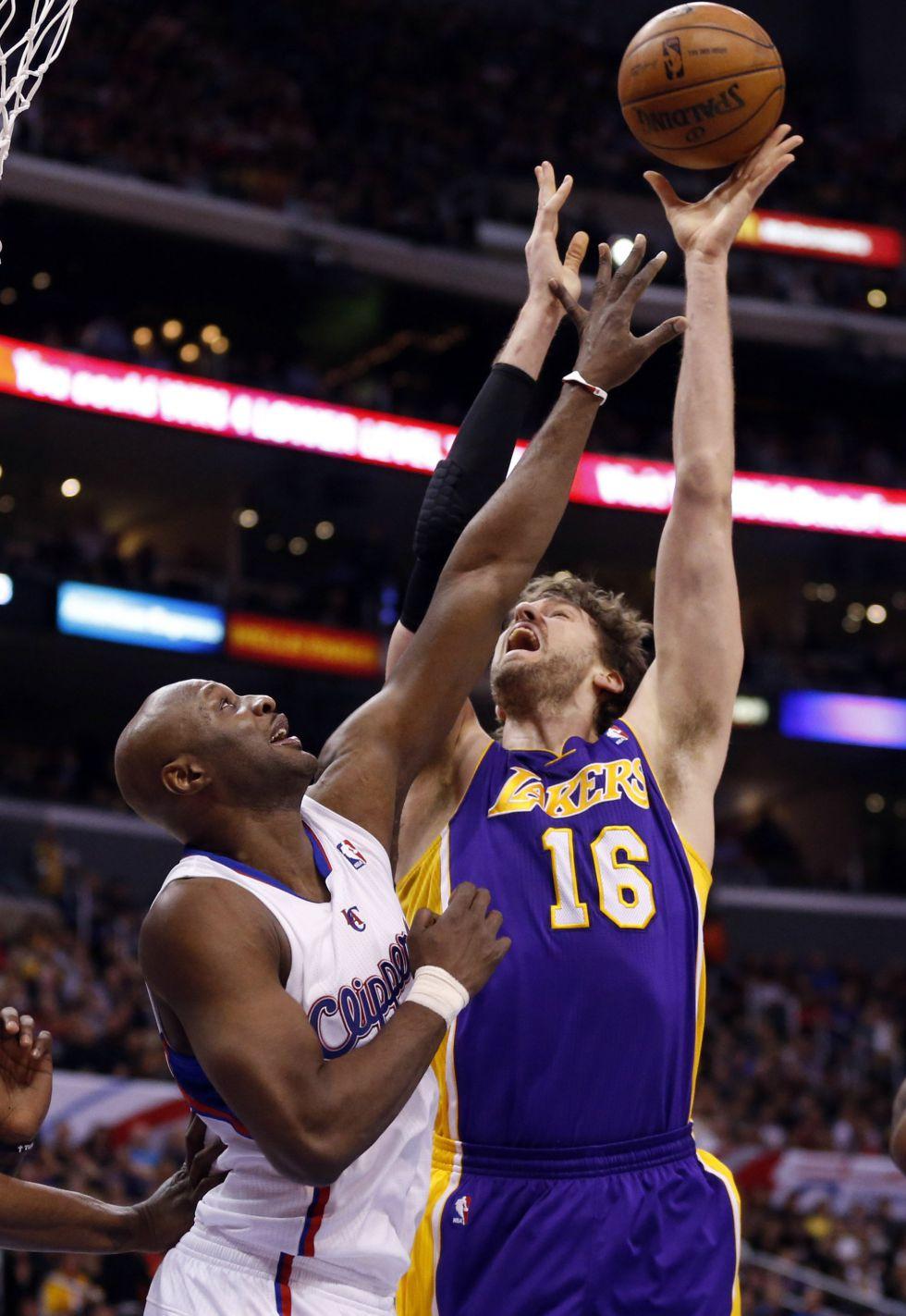 Los Clippers sentencian a los Lakers y D'Antoni a Pau Gasol