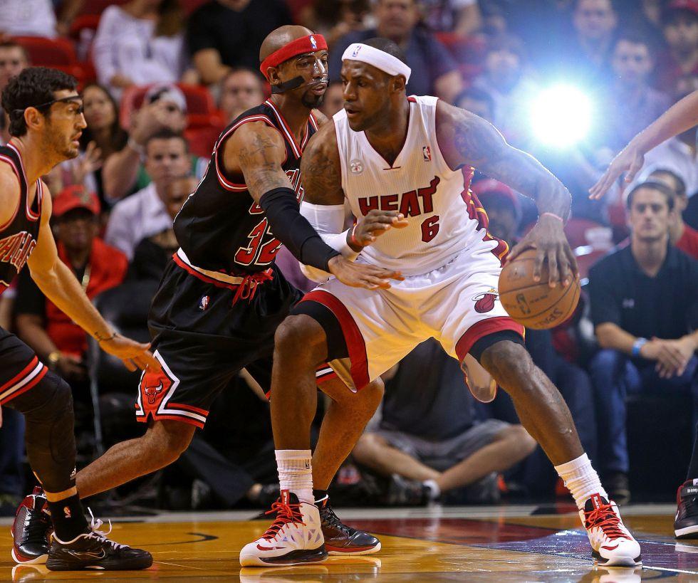Los Bulls pueden con los Heat y los Celtics recuperan el tono