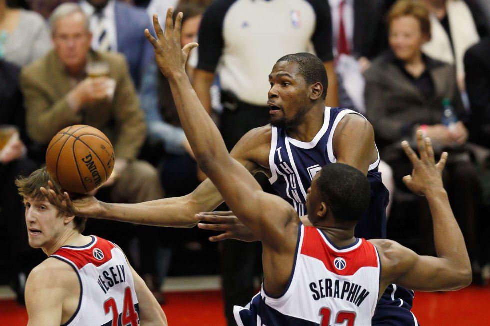 Los Wizards sorprenden a los Thunder de un gran Ibaka