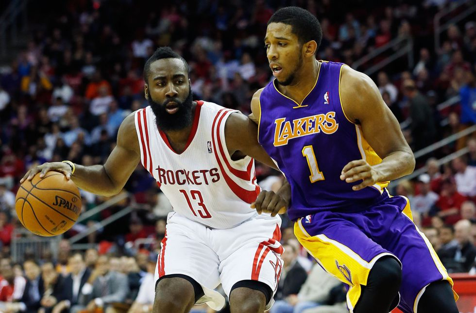 Harden y los Rockets ganan fácil a unos diezmados Lakers