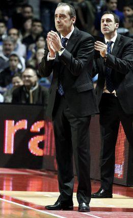 """Txus Vidorreta: """"Ha sido un partido casi perfecto"""""""