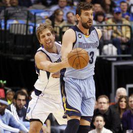 Marion y Nowitzki encabezan la paliza de Dallas a los Grizzlies