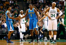 Aminu y Vásquez detienen la racha ganadora de los Celtics
