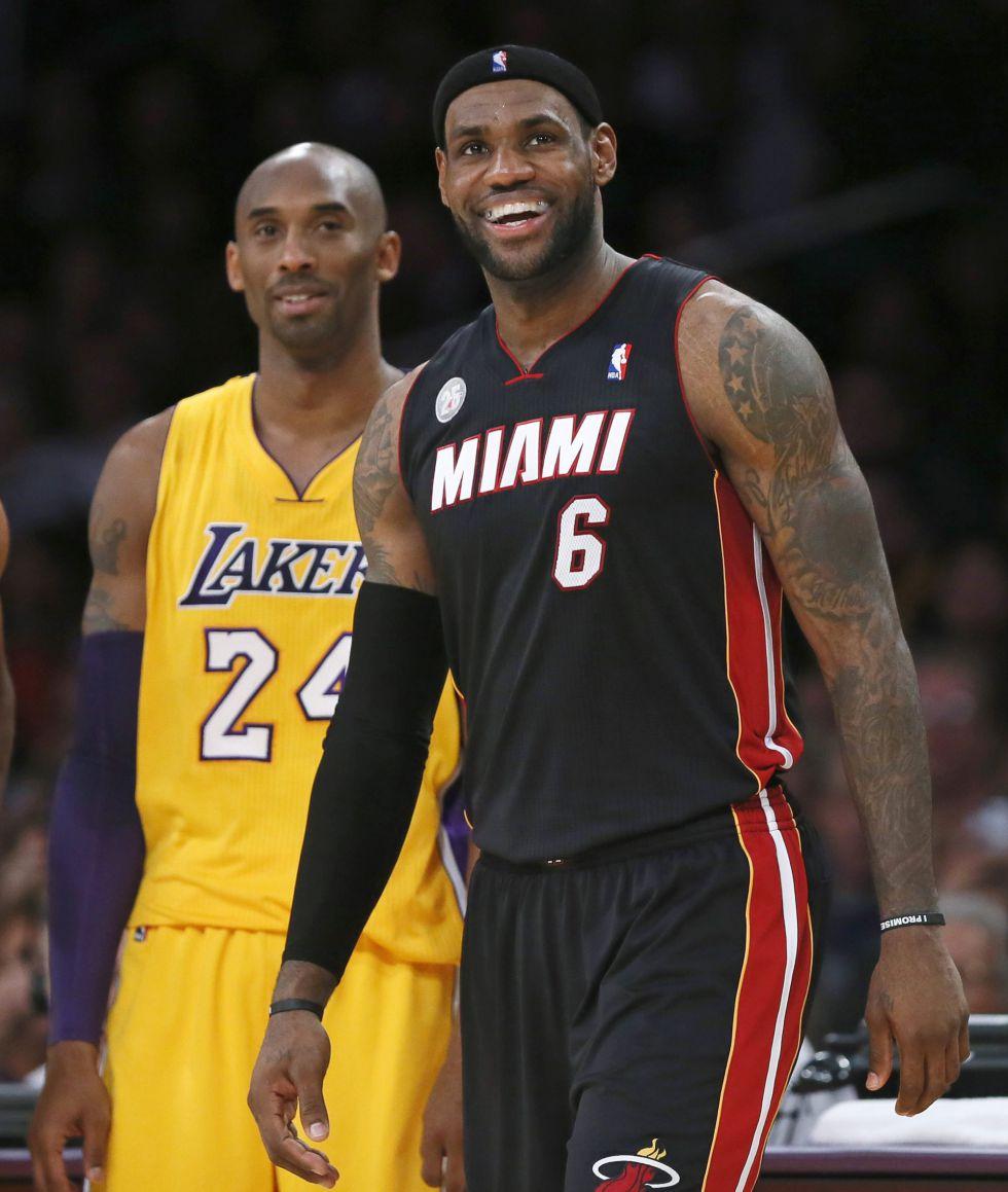 Bryant y James encabezarán los equipos titulares del All-Star
