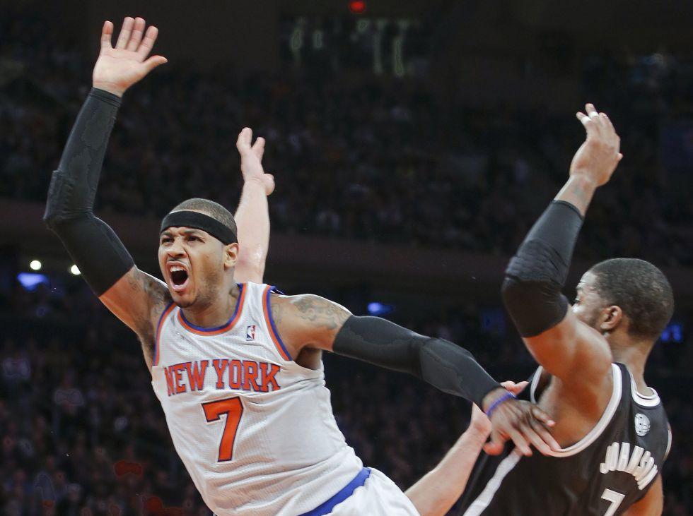 Johnson decidió el duelo neoyorquino con los Knicks