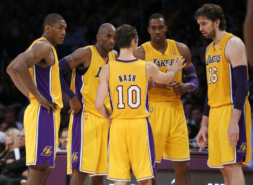 Los Lakers de Pau Gasol naufragan fuera de Los Ángeles