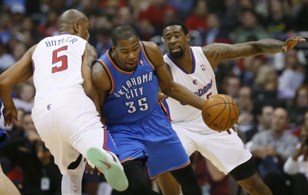 Durant gana a Griffin y Thunder se confirman como los mejores