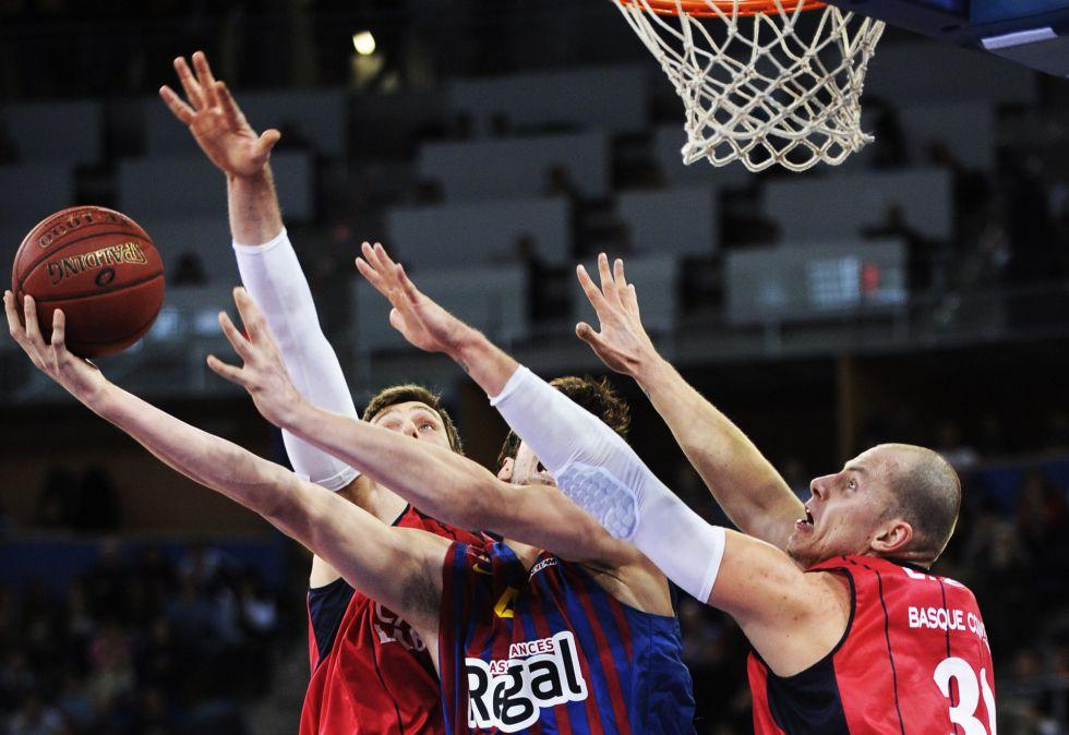 El Barça muestra su mejor cara para ganar al Caja Laboral