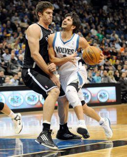 Los Wolves pierden y Rubio expresa su enfado con Porter