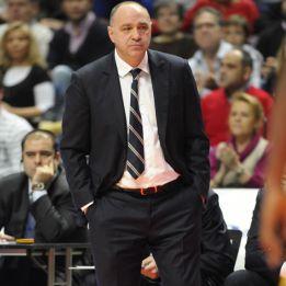 Pablo Laso, mejor entrenador de enero, según la AEEB