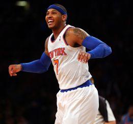 Anthony anota 9 triples en el nuevo triunfo de los Knicks