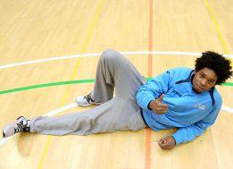 """Nogueira: """"Antes de la NBA quiero triunfar en el Estudiantes"""""""