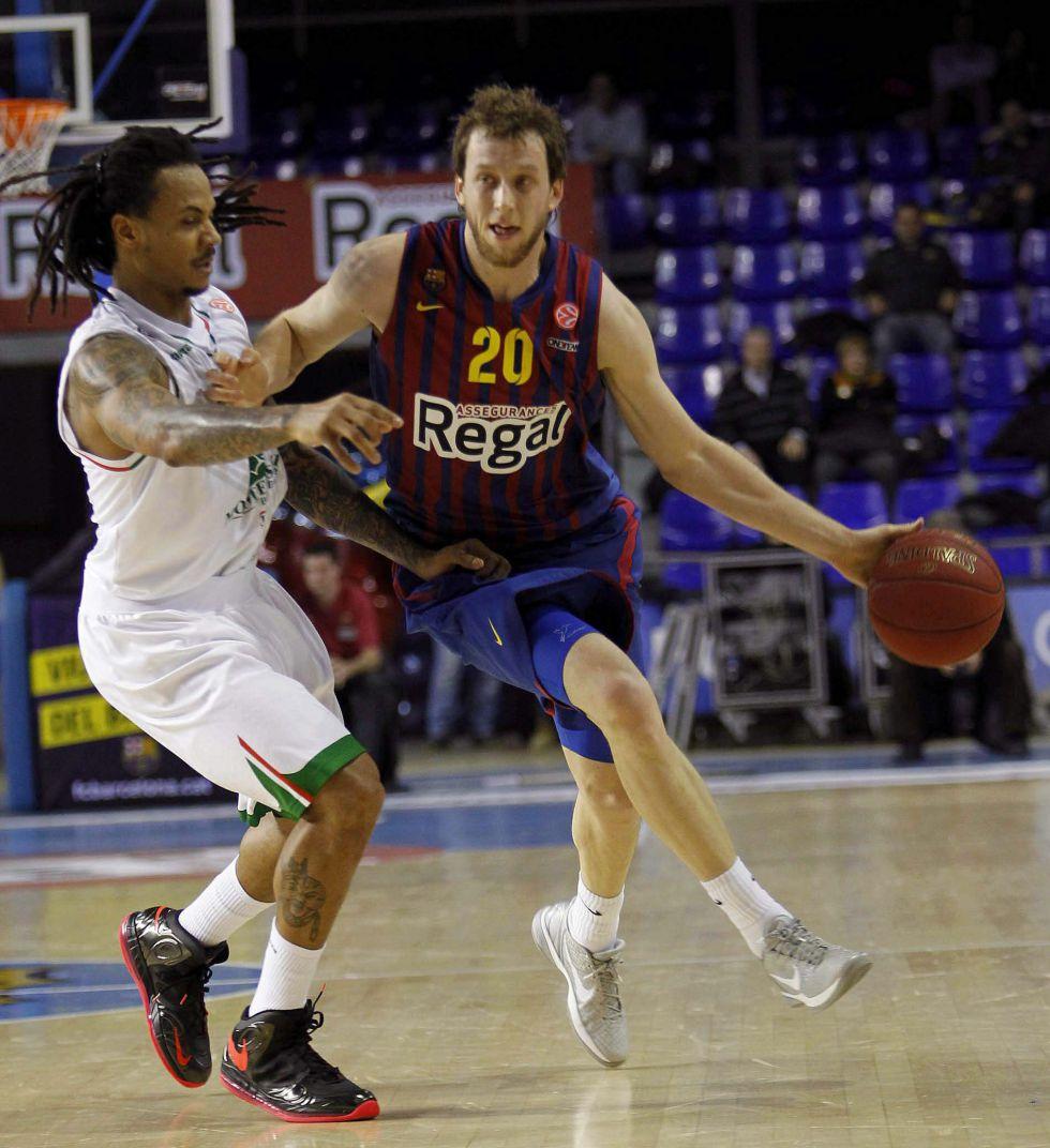 El Barcelona se exhibe sin Navarro y aplasta al Siena
