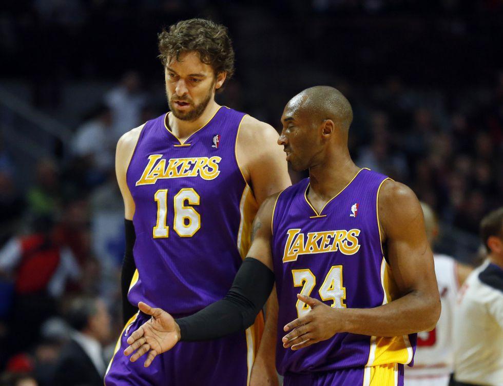 """Pau Gasol: """"Espero volver a vivir tiempos más dulces en Lakers"""""""