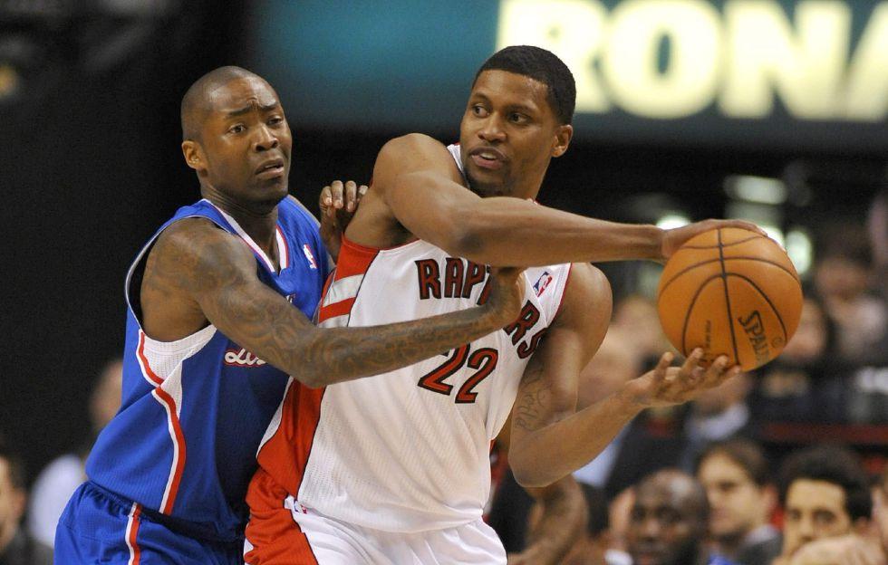 Debut triunfal de Rudy Gay con los Raptors ante los Clippers