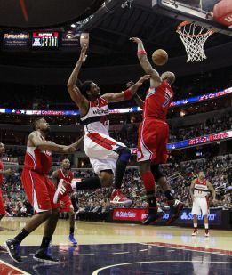 Los Clippers pierden a Blake y caen ante los Wizards