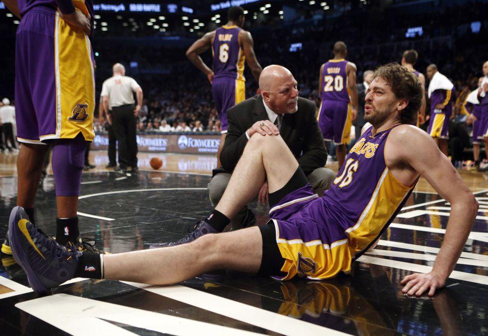 Ganan los Lakers… y cae Pau Gasol: lesión en el pie
