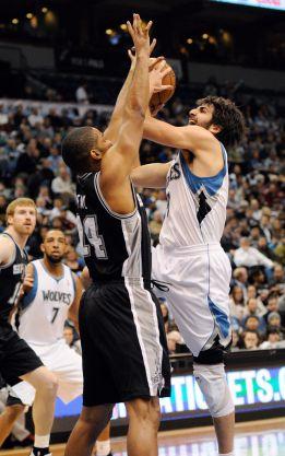 Green lideró a los Spurs; Ricky Rubio, 9 puntos y 11 asistencias
