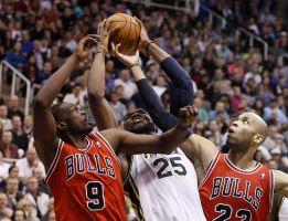 Boozer se venga de los Jazz y ganan los Chicago Bulls
