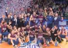 El Barça abruma al Valencia e iguala los títulos del Madrid