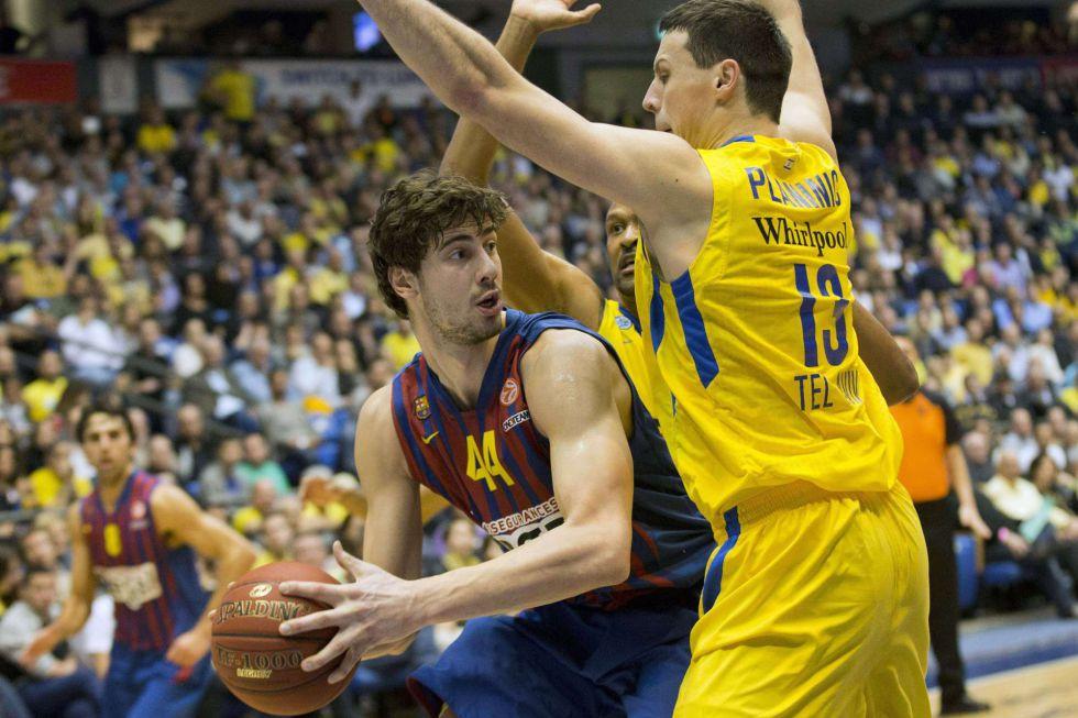 El Barcelona sigue con su racha de la mano de Navarro y Tomic