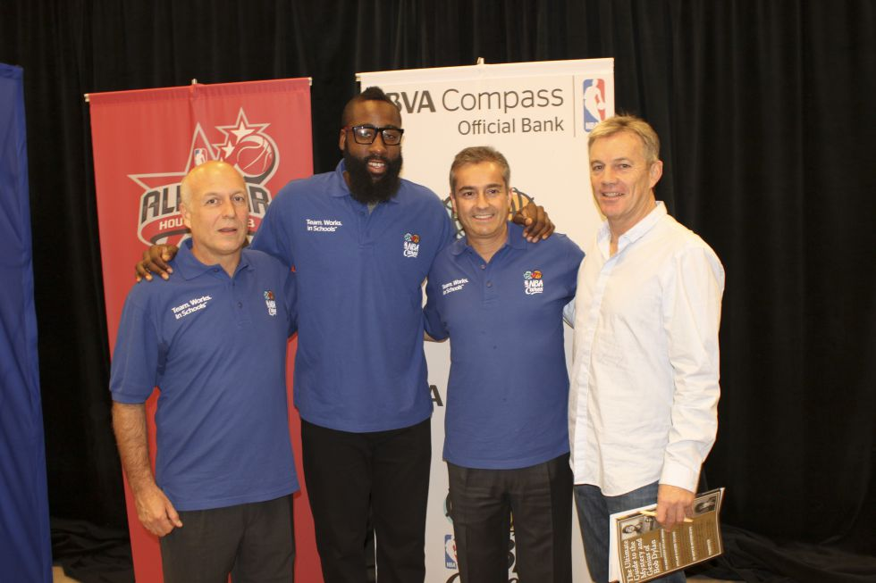 BBVA y NBA abren el All Star Weekend con Harden de estrella