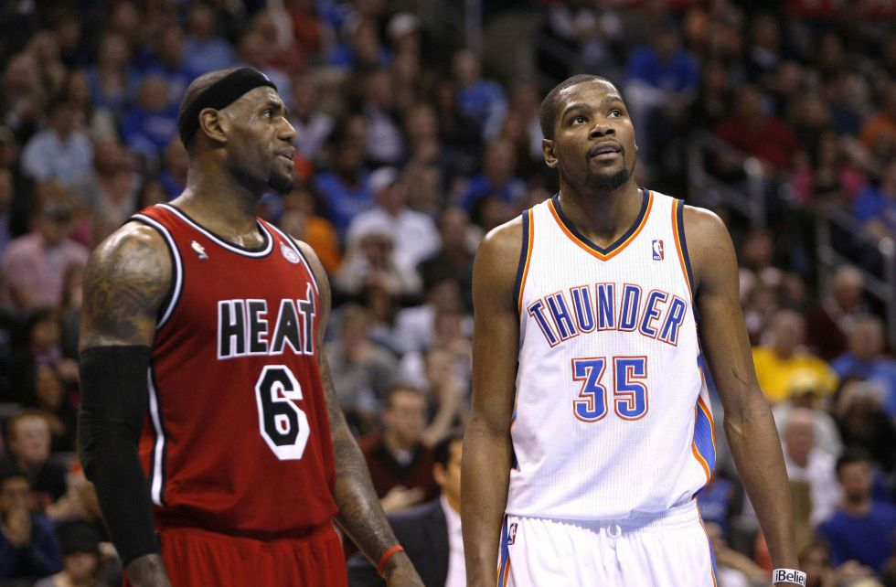James y los Heat barrieron a los Thunder de Durant e Ibaka