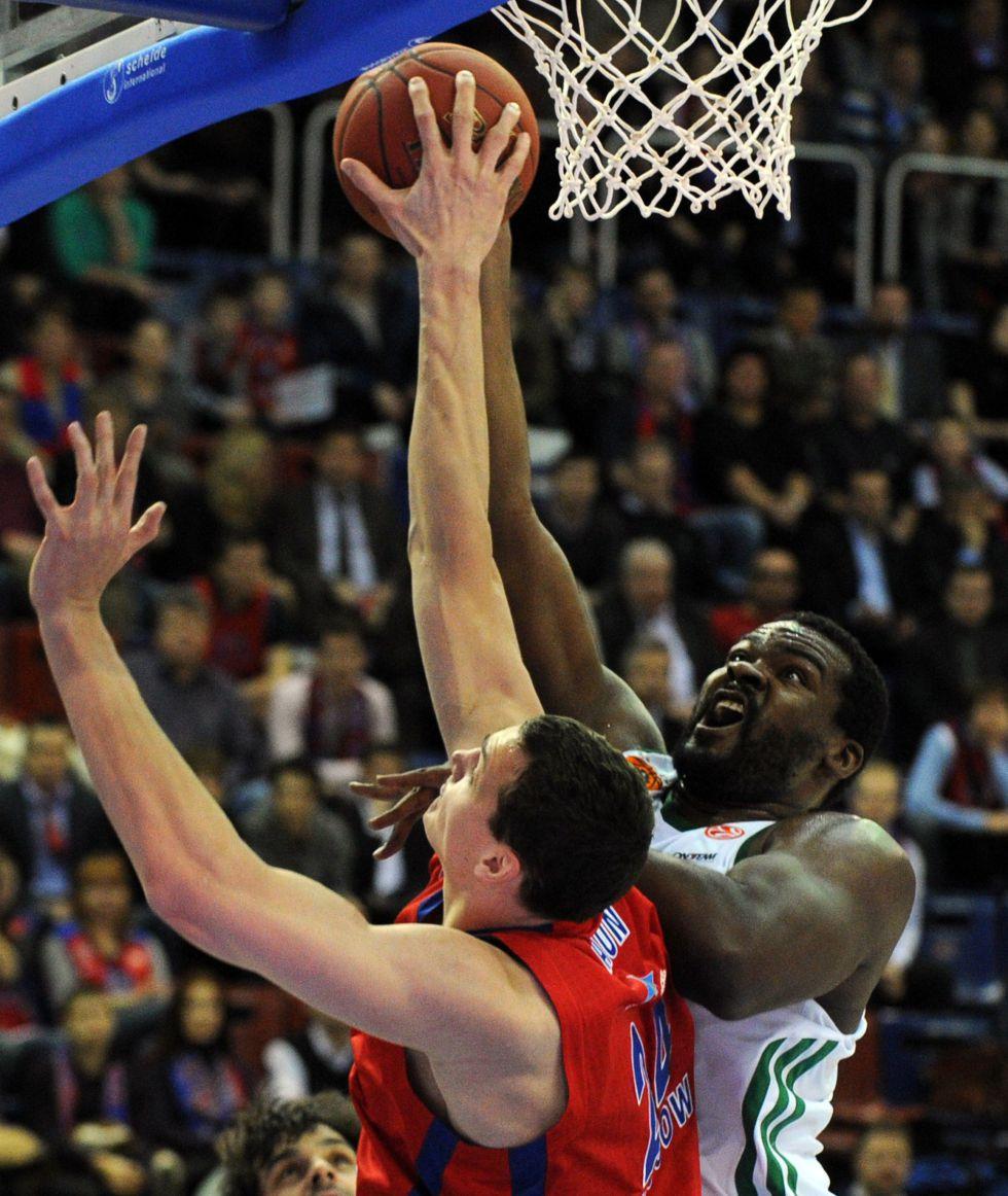 Sasha Kaun, del CSKA, ''MVP'' de la semana en la Euroliga